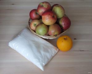 Яблочный джем с апельсинами - фото шаг 1