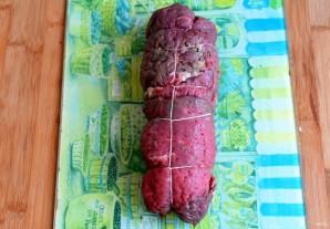 Рулет из говядины под сыром - фото шаг 4