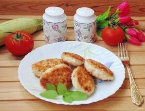Котлеты из куриного филе с кабачком без яиц - фото шаг 7