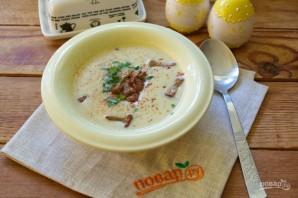 Крем-суп из кабачков с лисичками - фото шаг 11