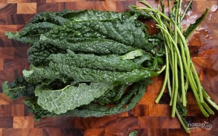 Салат с пармезаном - фото шаг 2