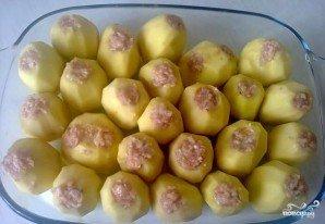 Картофель, фаршированный фаршем - фото шаг 2