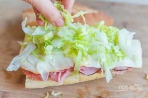 Итальянский клубный сэндвич - фото шаг 3