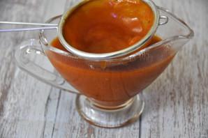 Красный мясной соус - фото шаг 11