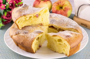Яблочный пирог Анастасии Скрипкиной - фото шаг 9