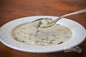 Сливочно-грибной суп - фото шаг 7