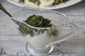 Салат с говядиной и зелёным яблоком - фото шаг 8