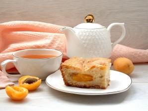 Быстрый пирог с абрикосами - фото шаг 9