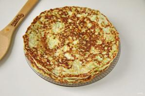 Кабачковый торт с грибами - фото шаг 6