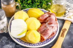 Тушеная картошка с козлятиной - фото шаг 1