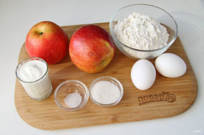 Кокроки с яблоками - фото шаг 1
