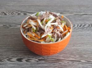 Мясной салат с дайконом - фото шаг 7