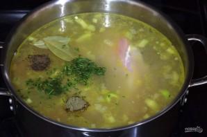 Куриный суп с перловкой - фото шаг 3