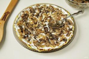 Кабачковый торт с грибами - фото шаг 9