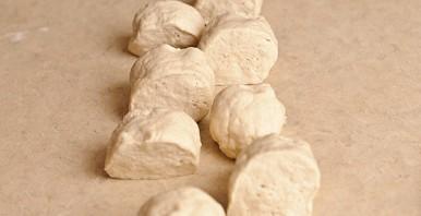 Хачапури с сыром на кефире - фото шаг 5