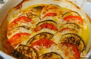 Баклажаны с моцареллой в духовке - фото шаг 8