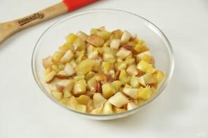 Яблочный штрудель диетический - фото шаг 3