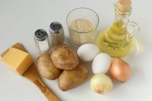 Котлеты из картофеля в мундире - фото шаг 1