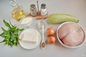 Куриный шашлык по-гречески с соусом - фото шаг 1
