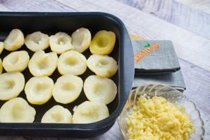 Запеченный хрустящий картофель с сыром - фото шаг 3