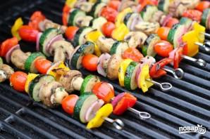 Овощи на углях - фото шаг 5