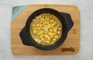 Кукурузная каша с яблоком