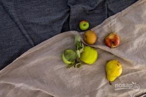 """Пирог с """"пьяными"""" фруктами - фото шаг 1"""