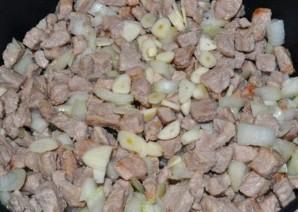 Свинина с кабачками и помидорами - фото шаг 1