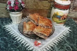 Рыбный пирог из сайры - фото шаг 10