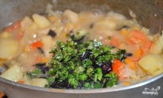 Картофель с мясом и овощами - фото шаг 17