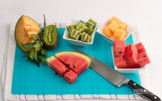 Оригинальный фруктовый салат - фото шаг 2