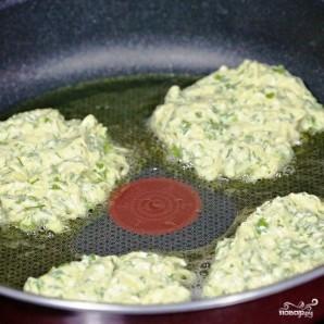 Кабачковые оладьи с козьим сыром - фото шаг 16