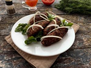 Люля кебаб на сковороде без шпажек - фото шаг 9