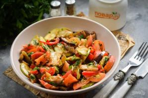 Армянская закуска из баклажанов и кабачков - фото шаг 7