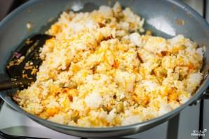 Рис с яйцом по-китайски - фото шаг 6