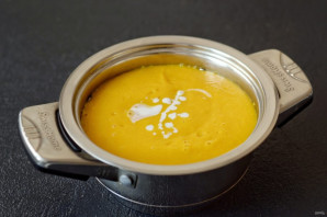Тыквенный суп с кокосовым молоком - фото шаг 6
