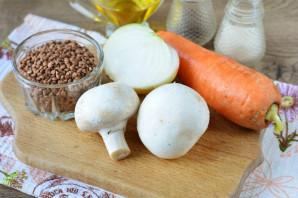 Гречка с грибами по-царски - фото шаг 1