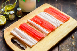 "Салат ""Маяк"" с корейской морковкой - фото шаг 2"