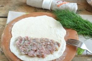 Чебуреки с мясом - фото шаг 6