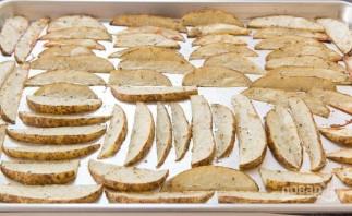 Картофельные дольки с чесноком - фото шаг 4