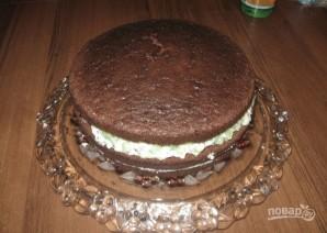 "Торт ""Клубника и шоколад"" - фото шаг 5"