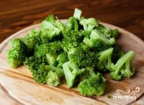 Брокколи на сковороде - фото шаг 1