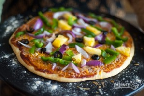 Бездрожжевая пицца - фото шаг 13