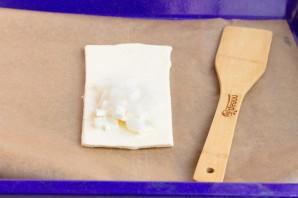 Слойки с дыней и сыром - фото шаг 3