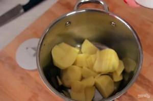 Грибной крем-суп с домашними гренками - фото шаг 1