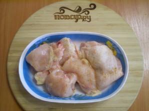 Курица с овощами на пару - фото шаг 2