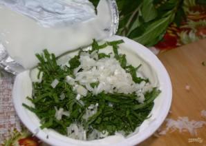 Соус из йогурта - фото шаг 4
