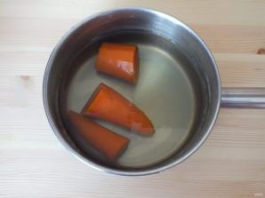 Селедочное масло с морковью - фото шаг 2