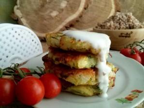 Оладьи из кабачков с сыром и чесноком - фото шаг 7