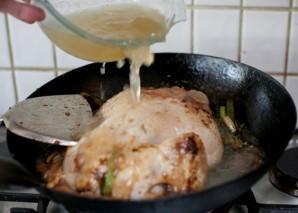 Курица, запеченая в воке целиком - фото шаг 8